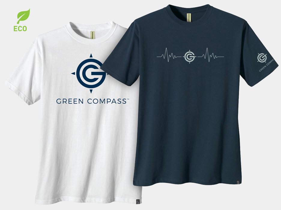 Green-Compass-Tshirts