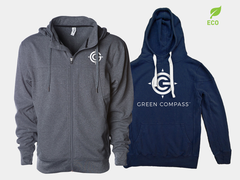 Green-Compass-Hoodies