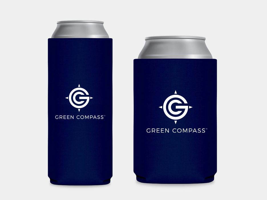Green-Compass-Koozies